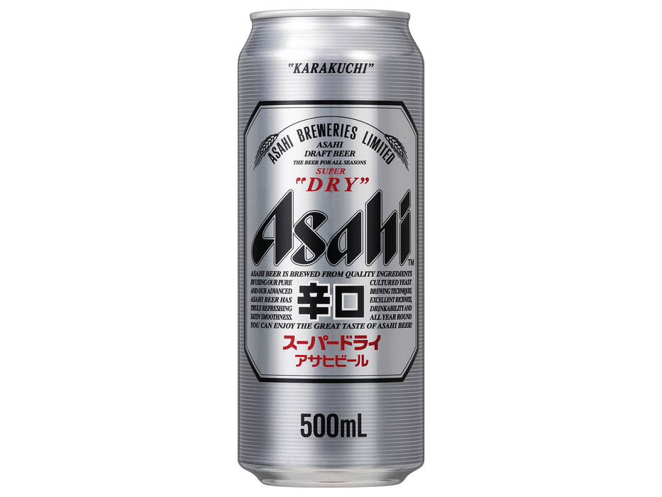 Asahi: Super Dry Beer (17oz/500ml)