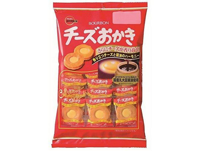 Bourbon Cheese Cream Filled Okaki Rice Crackers(2.89oz/82g)