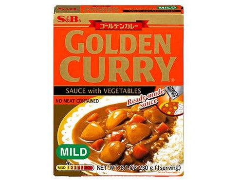 Golden Curry Sauce with Vegetables Mild 1serv. (8.1oz/230g)