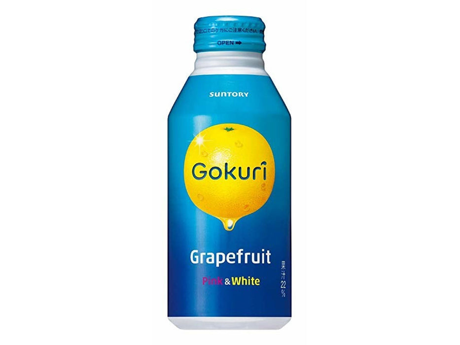 Gokuri Real Pink & White Grapefruit Nectar (13.5oz/400ml)
