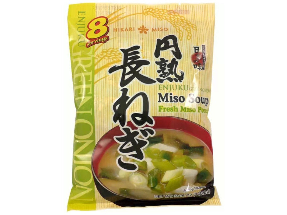 Hikari Enjuku Instant Miso Soup, Green Onion 8servings (5.25oz/148.8g)