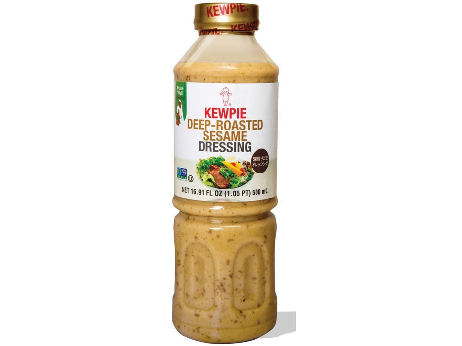 Kewpie: Deep Roasted Sesame Dressing (16.9 oz / 500 ml)