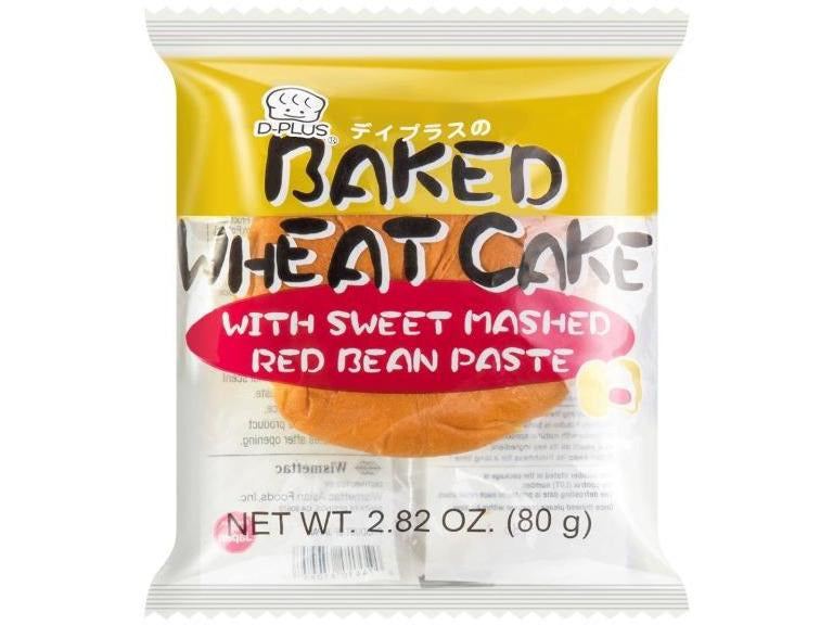 Baked Wheat Cake With Mashed Red Bean Paste (2.82oz/80g)
