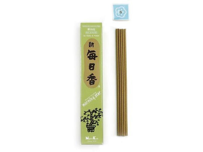 MORNING STAR Incense - Pine 50 sticks