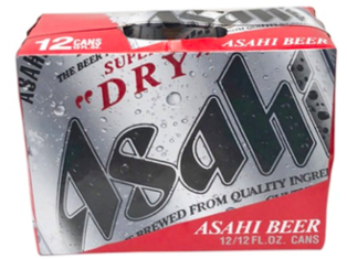Asahi Super Dry Beer (12oz/320ml) x 12cans