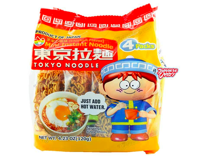 Mini Instant Noodle Chicken Flavor (4-pack)