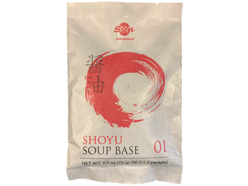 Ramen Soup Base 01 - Soy Sauce (2 servings)