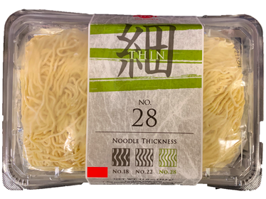 Fresh Thin Noodle No.28 (2 servings)