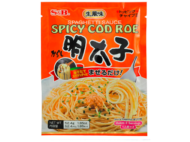 Spicy Cod Roe Mentaiko Spagetti Sauce (2 servings)