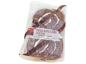 Happy Clover Swiss Roll Cake - Cocoa 4pcs (7.05oz/200g)