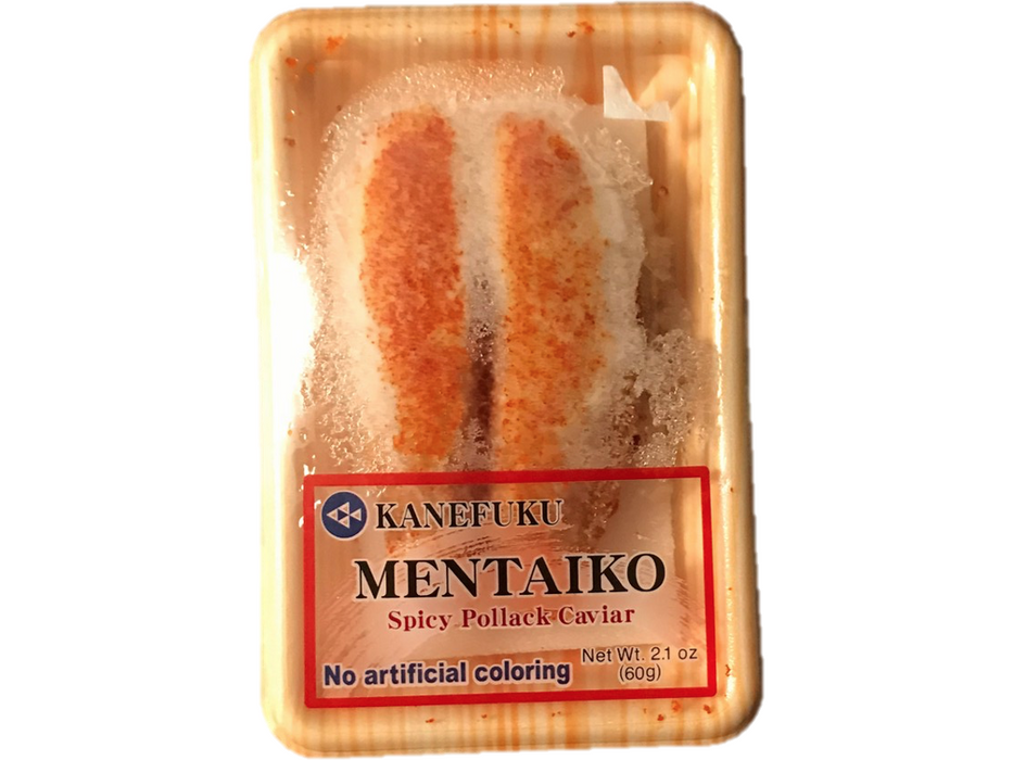 Spicy Pollack Caviar Mentaiko (2.5oz/70g)