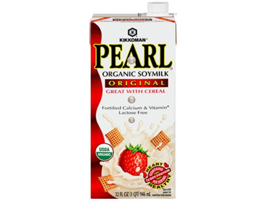 PEARL Organic Soymilk Original (32oz/946ml)