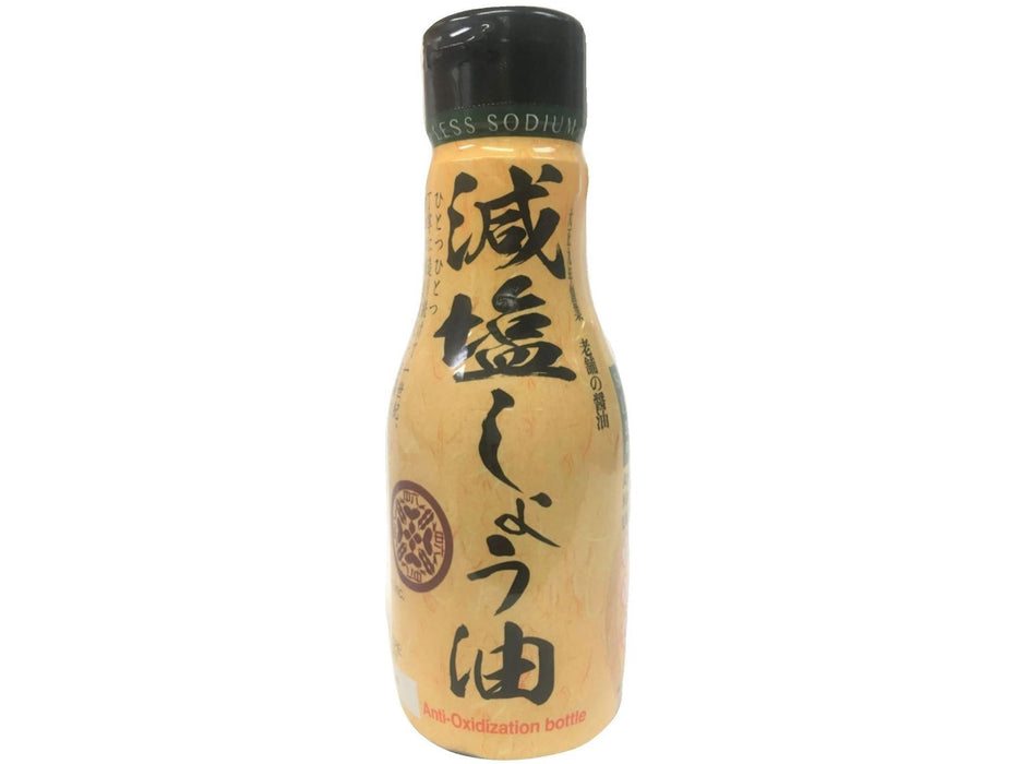 Shirakiku Soy Sauce Less Sodium (6.76oz/200ml)