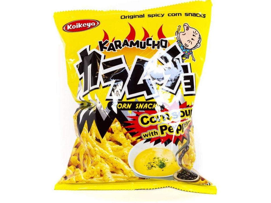 KARAMUCHO Corn Snacks Corn Soup with Pepper (2.3oz/65g)