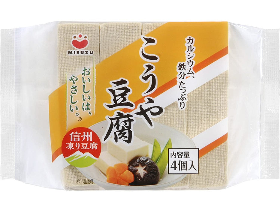 Misuzu Koya Tofu freeze dried tofu 4pc (2.31oz/66g)