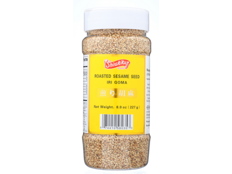 Shirakiku: Roasted White Sesame Seeds (8 oz / 227 g)