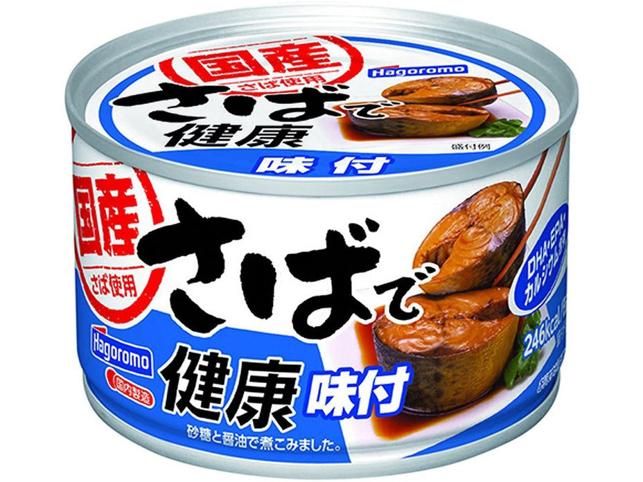 Canned Mackerel in Soy Sauce Flavor (5.6oz/160g)