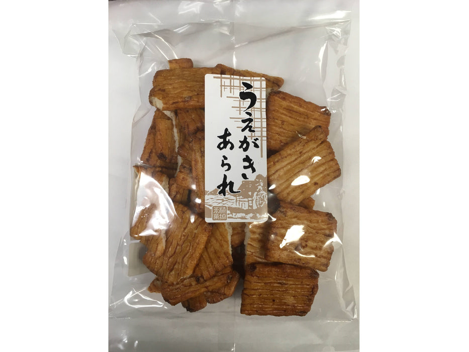 Uegaki Arare Shoyu Flavor Rice Cracker (5.8oz/160g)