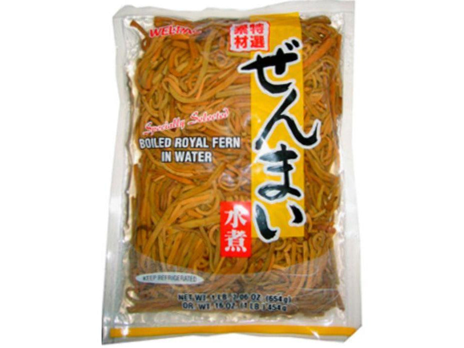 Zenmai Boiled Royal Fern In Water (1lb/454g)