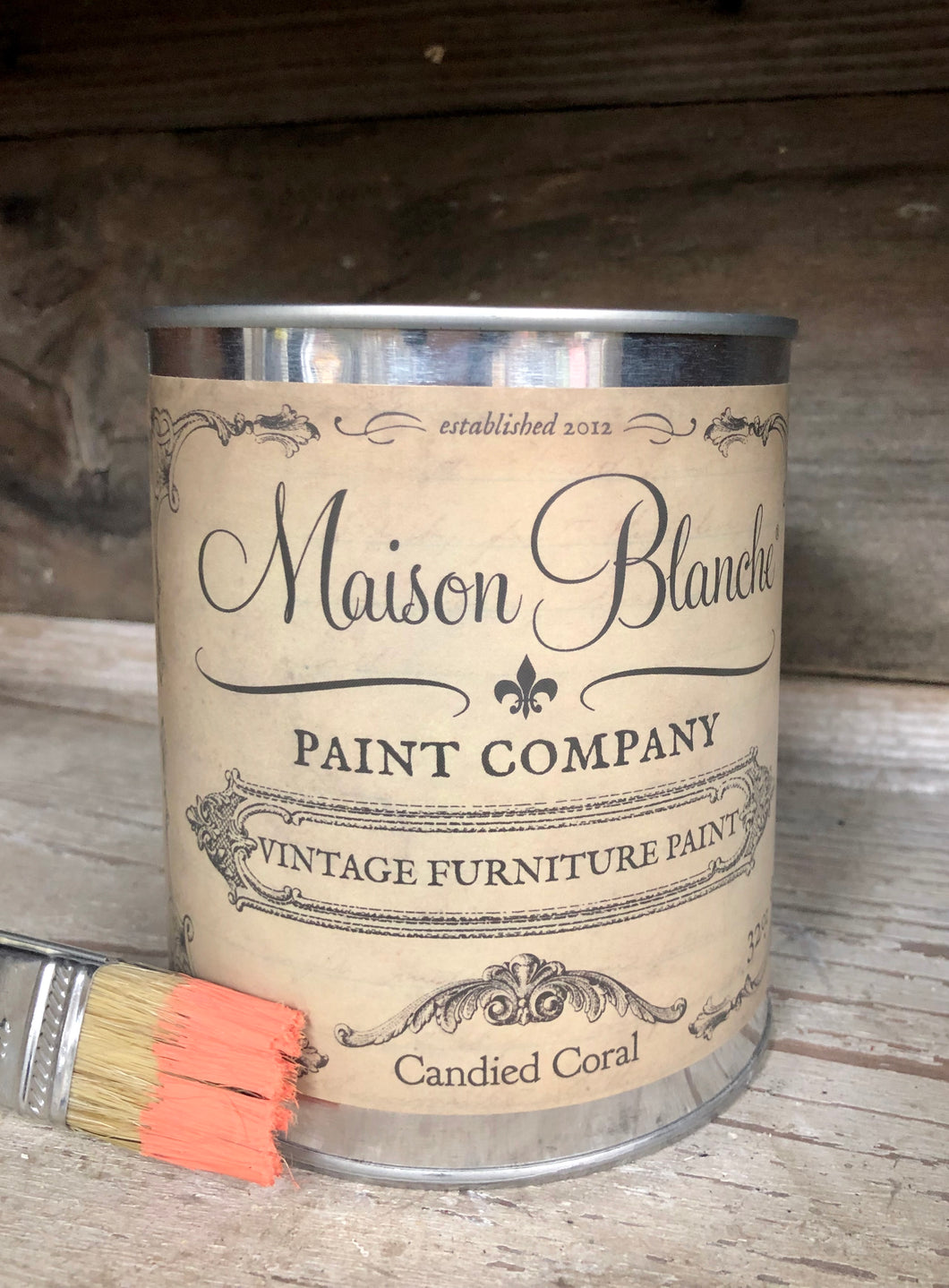 Candied Coral Vintage Paint