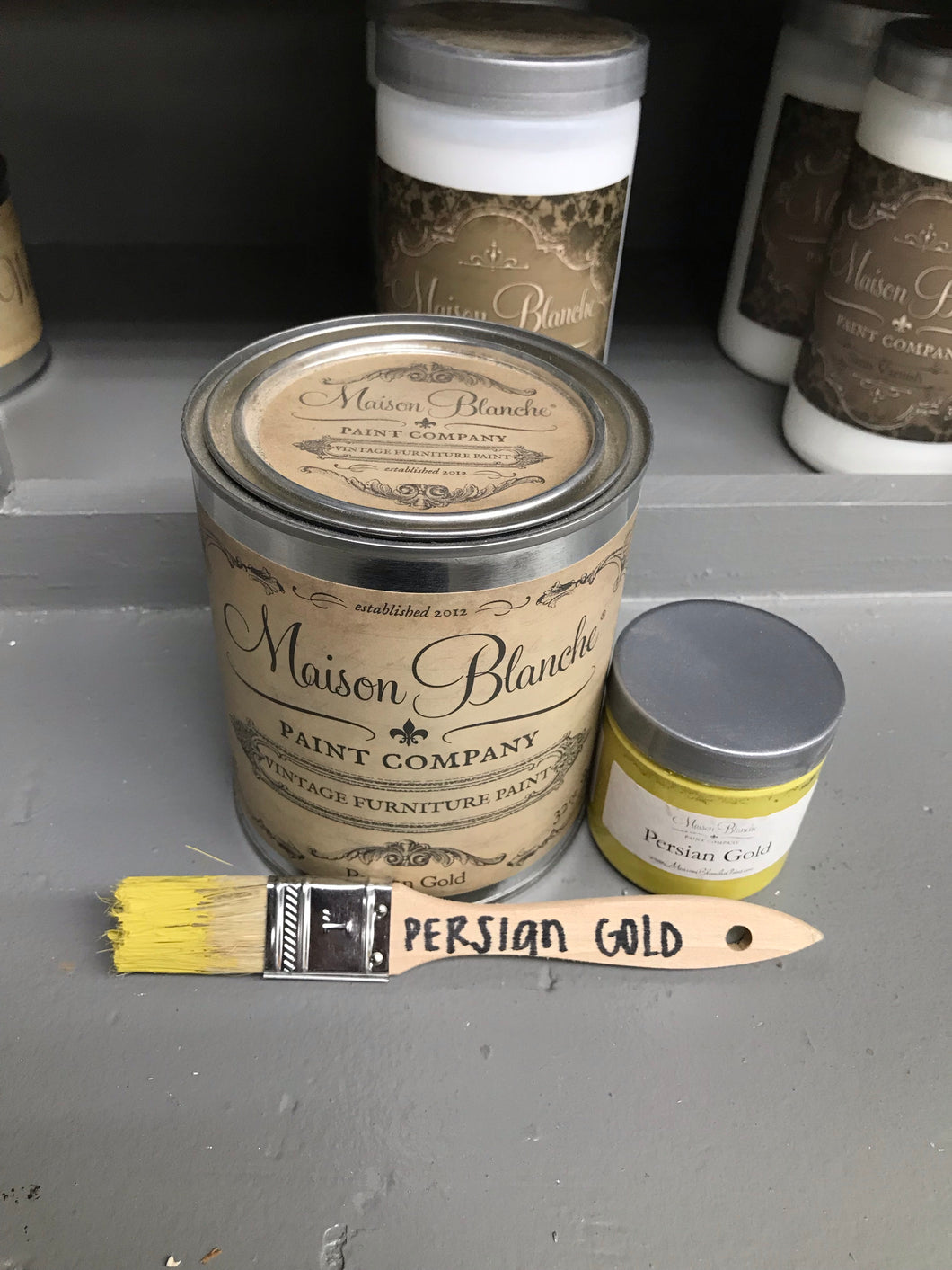 Persian Gold Vintage Paint