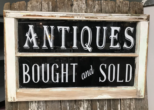 """Antiques Bought and Sold"""