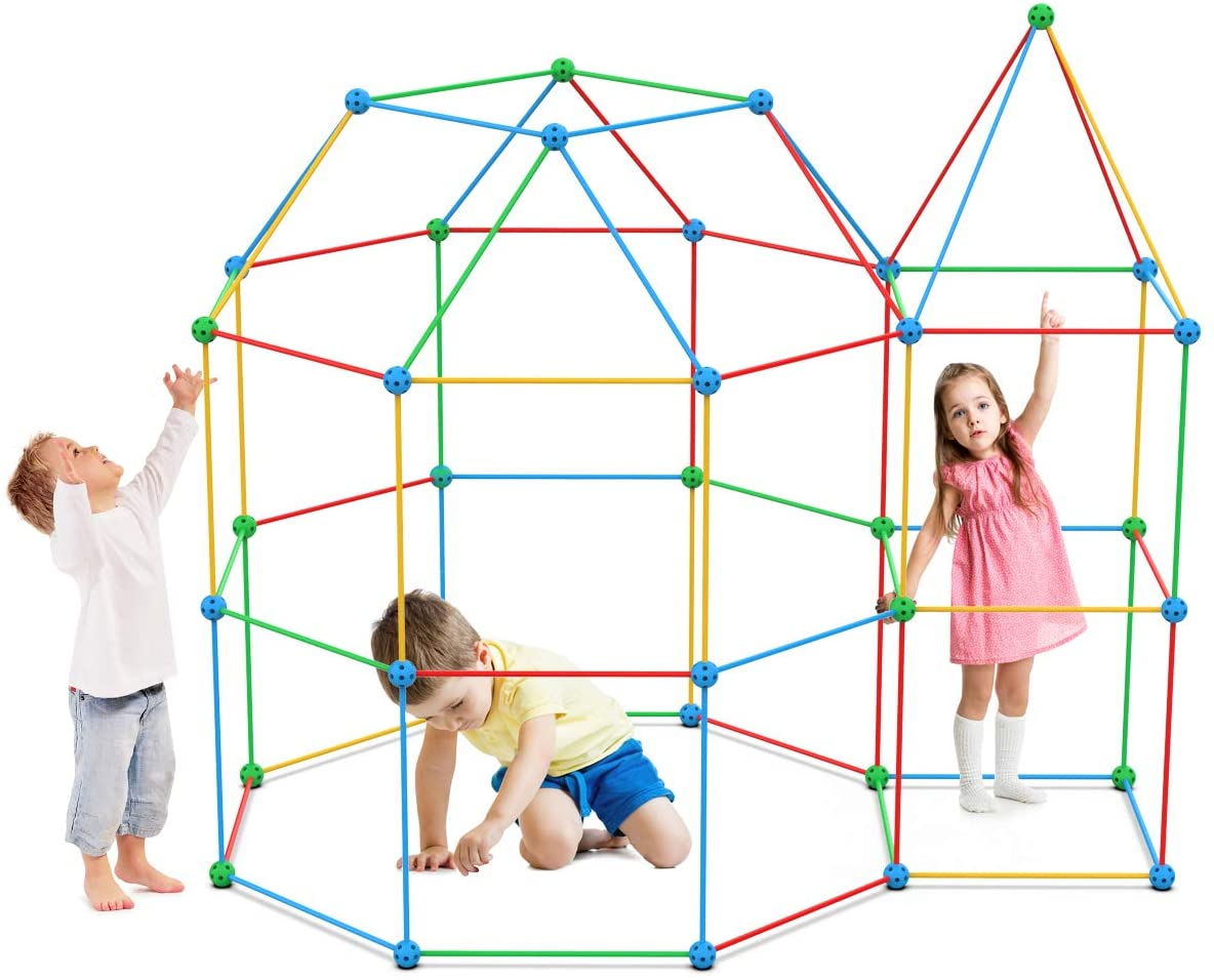 Kids DIY Construction Fort Kit
