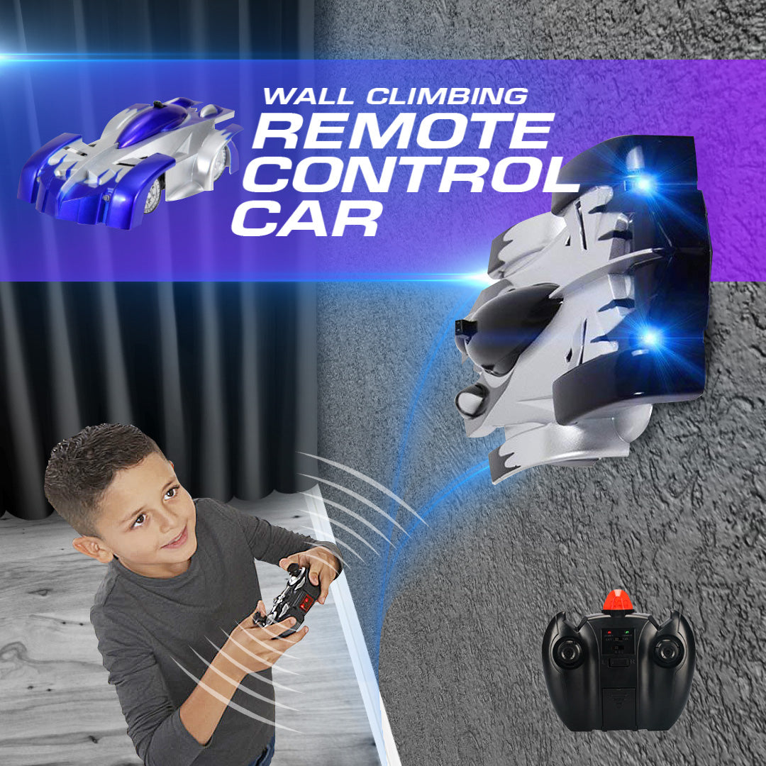 Wall Climbing Remote Control Car
