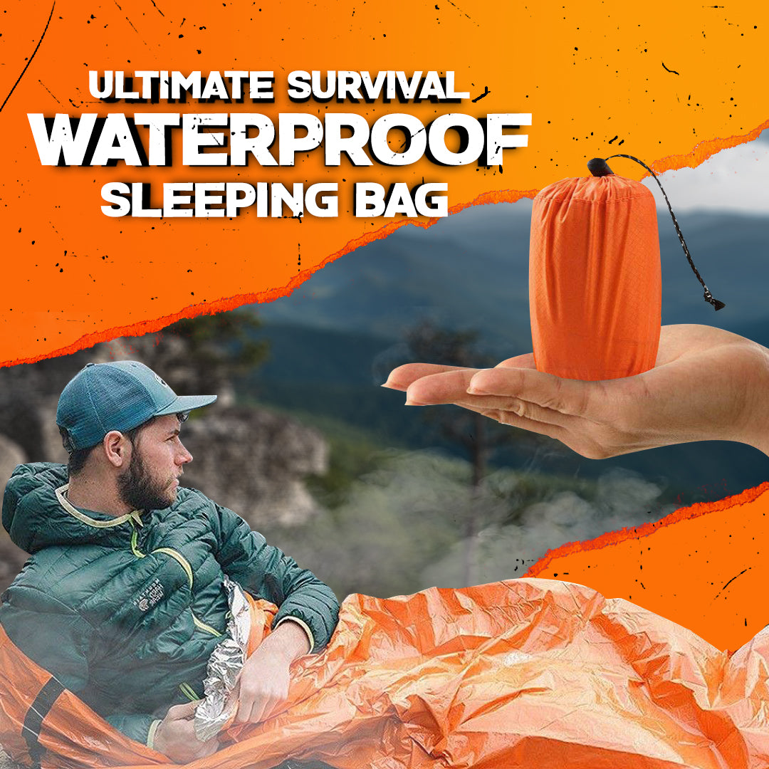 Ultimate Survival Waterproof Sleeping Bag