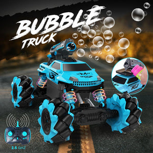 Remote-Controlled Bubble Truck