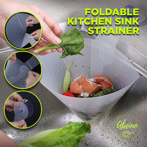 Foldable Kitchen Sink Strainer