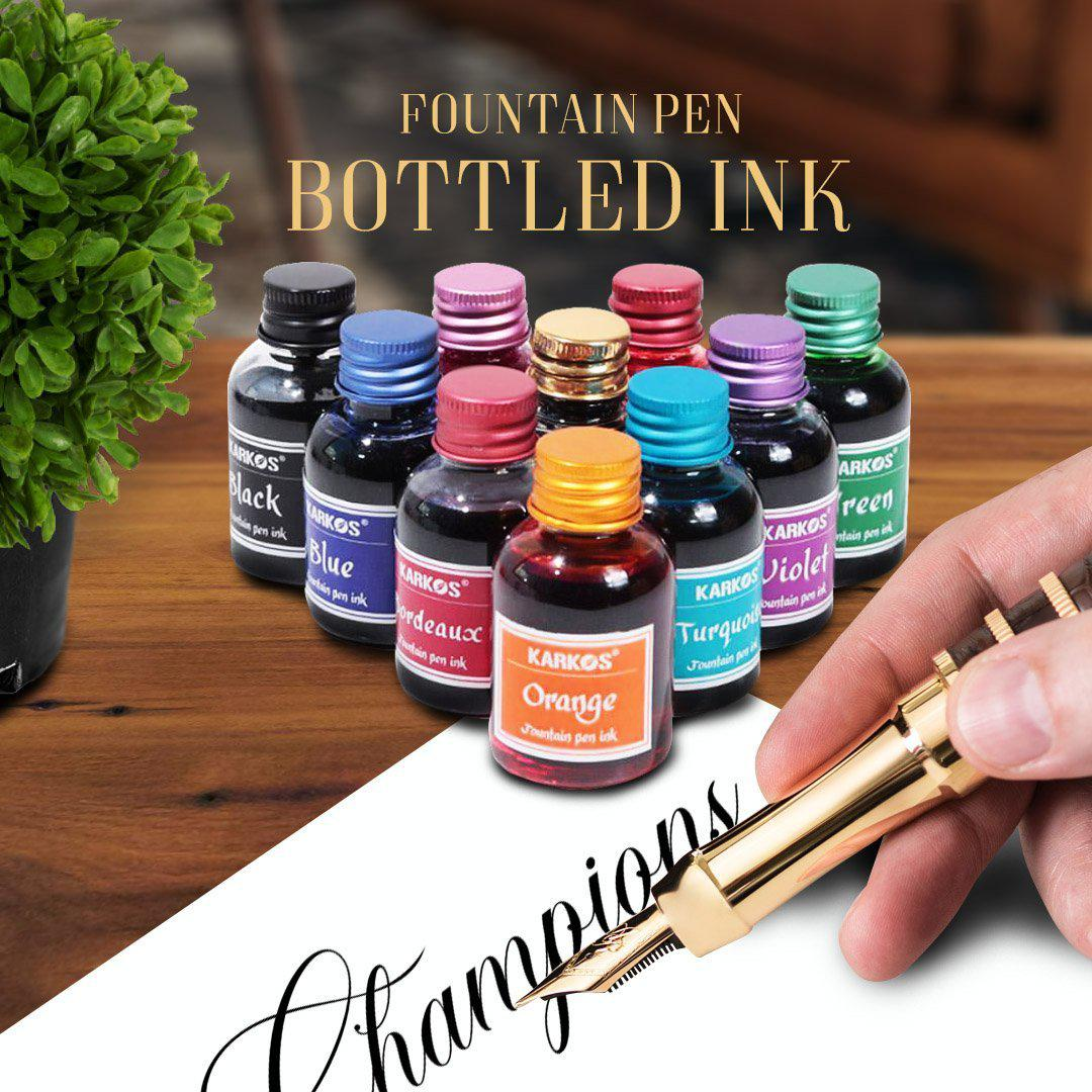Fountain Pen Bottled Ink