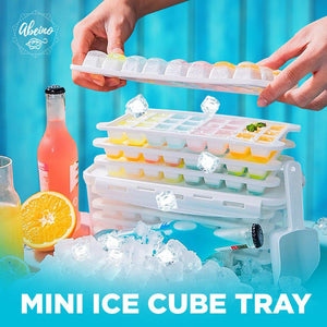 Mini Ice Cube Trays with Lid