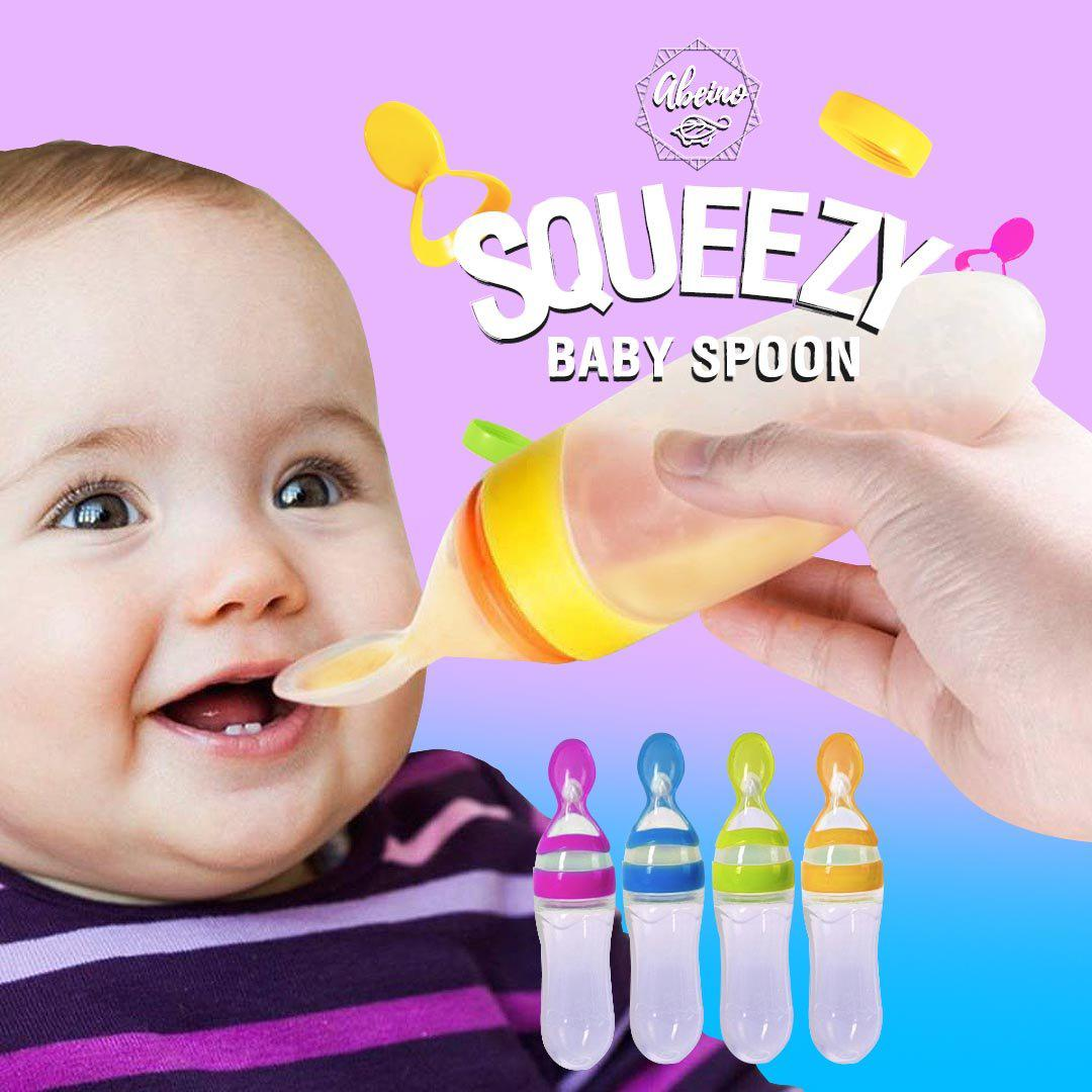Squeezy Baby Spoon