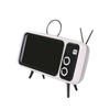 3-in-1 Retro TV Phone Holder and Speaker