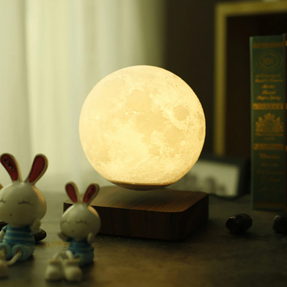Magnetic Moon Lamp