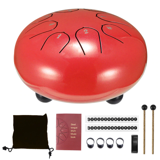 Relaxing Tongue Mini Drum
