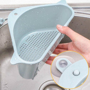 Triangular Sink Drain Shelf