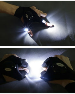 Waterproof LED Gloves