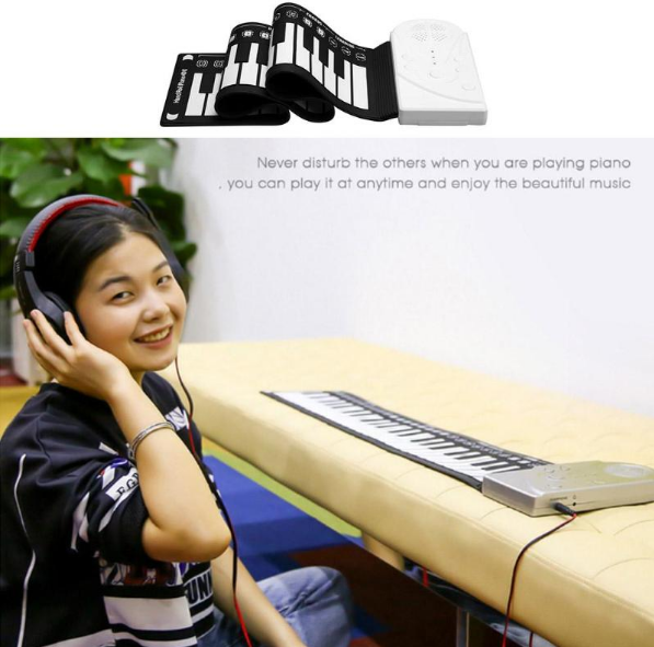 Roll-Up Keyboard Piano