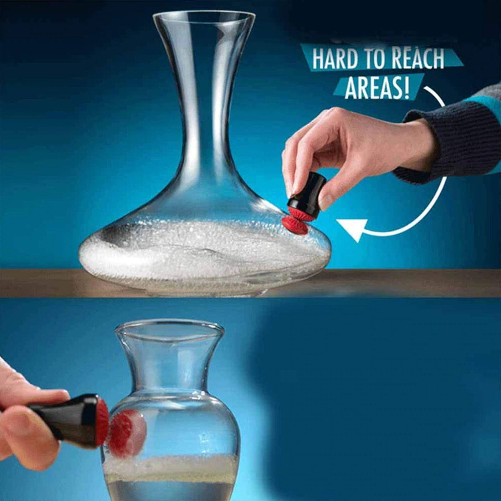 Magnetic Precision Glass Scrubber