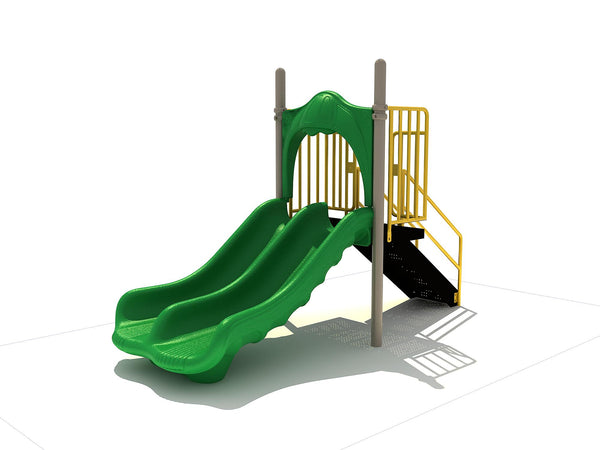 3' Free Standing Playground Double Slide