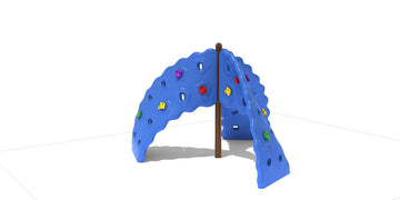 8' Mountain Twist Playground Space Climber
