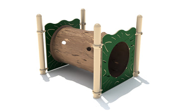 5' Timber Playground Crawl Tunnel