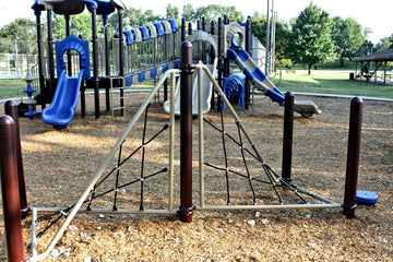 Double Twist Playground Net Climber