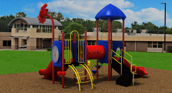 "Compact Play Series Playground Equipment  3.5"" Posts"