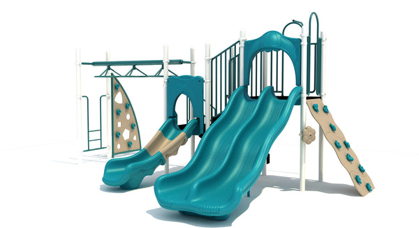 "Compact Playground Equipment Series with 3.5"" Posts"