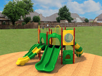 "Compact Play Series Playground Equipment ith 3.5"" Posts"