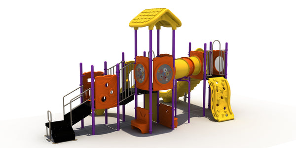 "Commercial Playground Equipment Play Strucutre with 3.5"" Posts"