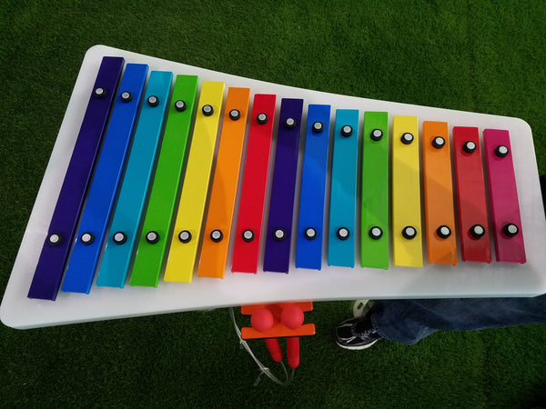 Rainbow Xylophone Outdoor Musical Instrument